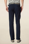 Peter England Navy Solid Chinos