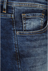 Peter England Dark Blue Heavily Washed Jeans