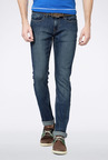 Peter England Dark Blue Slim Fit Jeans