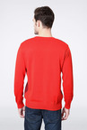 Allen Solly Red Cotton Sweater