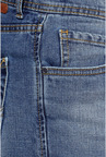 Peter England Blue Lightly Washed Jeans