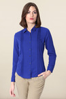 Allen Solly Blue Full Sleeve Formal Shirt