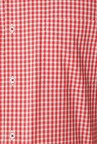 Peter England Red & White Slim Fit Formal Shirt