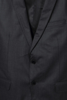 Peter England Dark Grey Slim Fit Formal Suit