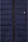 Peter England Navy Padded Casual Jacket