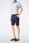 Allen Solly Navy Solid Shorts