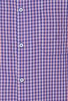 Peter England Blue Full Sleeves Regular Fit Formal Shirt