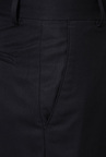 Peter England Black Slim Fit Trouser
