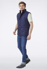 Peter England Dark Blue Casual Jacket