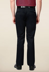 Peter England Navy Cotton Trouser