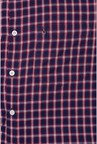Allen Solly Navy & Red Checks Slim fit Casual Shirt