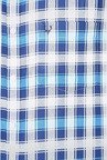 Allen Solly Blue & White Checks Casual Shirt
