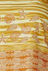 Global Desi Orange Printed Regular Fit Top