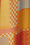 Global Desi Orange Printed Palazzo
