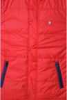 Peter England Red Zipper Jacket