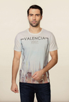 Van Heusen White Crew Neck T Shirt