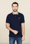 Van Heusen Navy Slim Fit Polo T Shirt