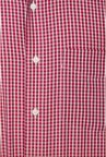Van Heusen Maroon Checks Shirt