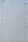 Van Heusen Blue Checks Slim Fit Shirt
