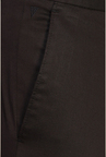 Van Heusen Brown Flat Front Cotton Trouser