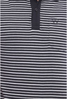 Van Heusen Black Striped Polo T Shirt