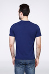 Van Heusen Blue Graphic Crew T Shirt