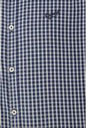 University Of Oxford Navy Checks Casual Shirt