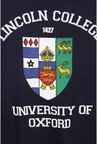 University Of Oxford Navy Graphic Crew T Shirt
