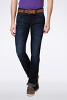 Van Heusen Navy Slim Fit Jeans
