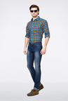 Van Heusen Blue Regular Fit Jeans