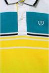 Van Heusen Yellow Solid Polo T Shirt