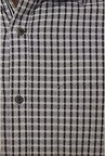 Peter England Grey Checks Formal Shirt