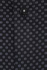 Turtle Black Printed Formal Shirt