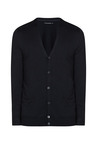 celio* Black Solid Cardigan