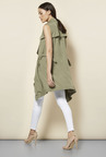 New Look Olive D-Ring Side Jacket