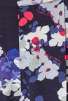 Phase Eight Navy Floral Printed Casual Trousers