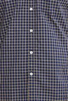 Parx Navy Checks Shirt