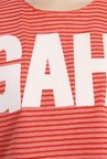 Only Pink & Red Striped T-shirt