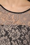 Avirate Grey Lace Top