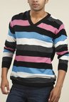 Parx Multicolor Striped Sweater