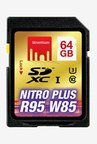 Strontium 64 GB Nitro Plus SDXC UHS-1 Support 4K Memory Card