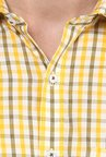 Turtle Yellow Checks Shirt