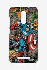 Macmerise XACN3SMM0056 Comic Captain America Sublime Case for Xiaomi Redmi Note 3