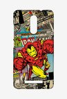 Macmerise XACN3SMM0068 Comic Ironman Sublime Case for Xiaomi Redmi Note 3