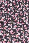 Globus Black Floral Blouson Dress