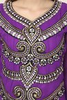 Yepme Purple Chante Unstitched Suit Set