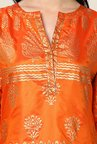 Yepme Orange & Beige Mezzy Salwar Kameez Set