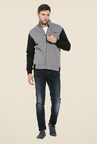 Mufti Grey Slim Fit Jacket