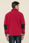 Mufti Red Slim Fit Jacket