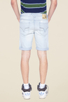 Mufti Blue Denim Shorts
